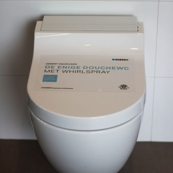 whirlspray toilet Wolterink